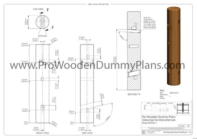 Woodworking Plans Children S Toys Blueprints For Wooden Dummy