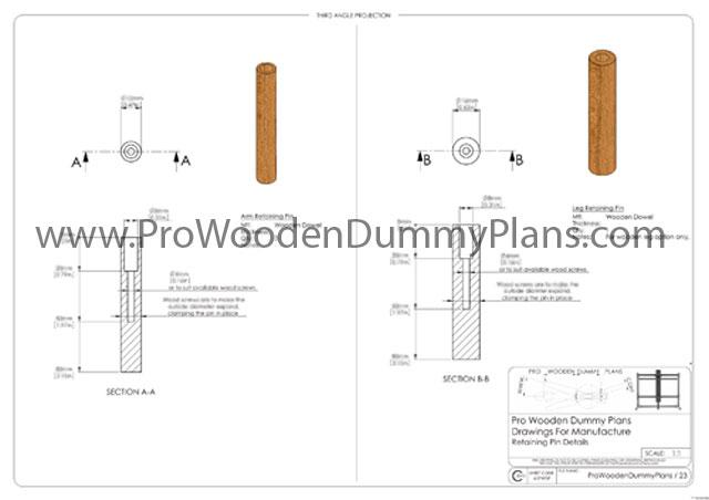 pro wooden dummy plans pdf