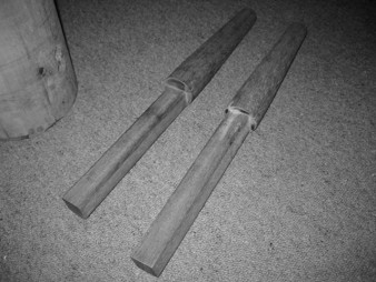 Wooden-Dummy-Arms-2-338x254 Home Made Wing Chun Dummy Plans on home made makiwara, home made rowing machine, home made gi,