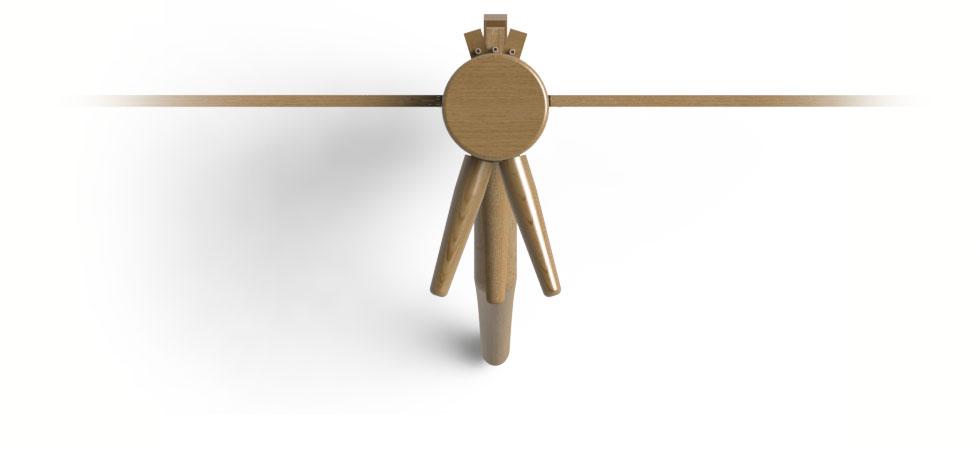 Pro Wooden Dummy Design.